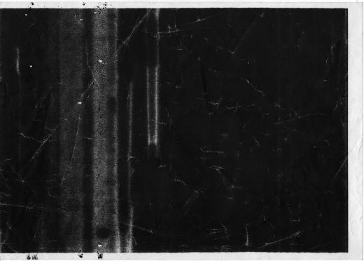 Dark Xerox texture on paper
