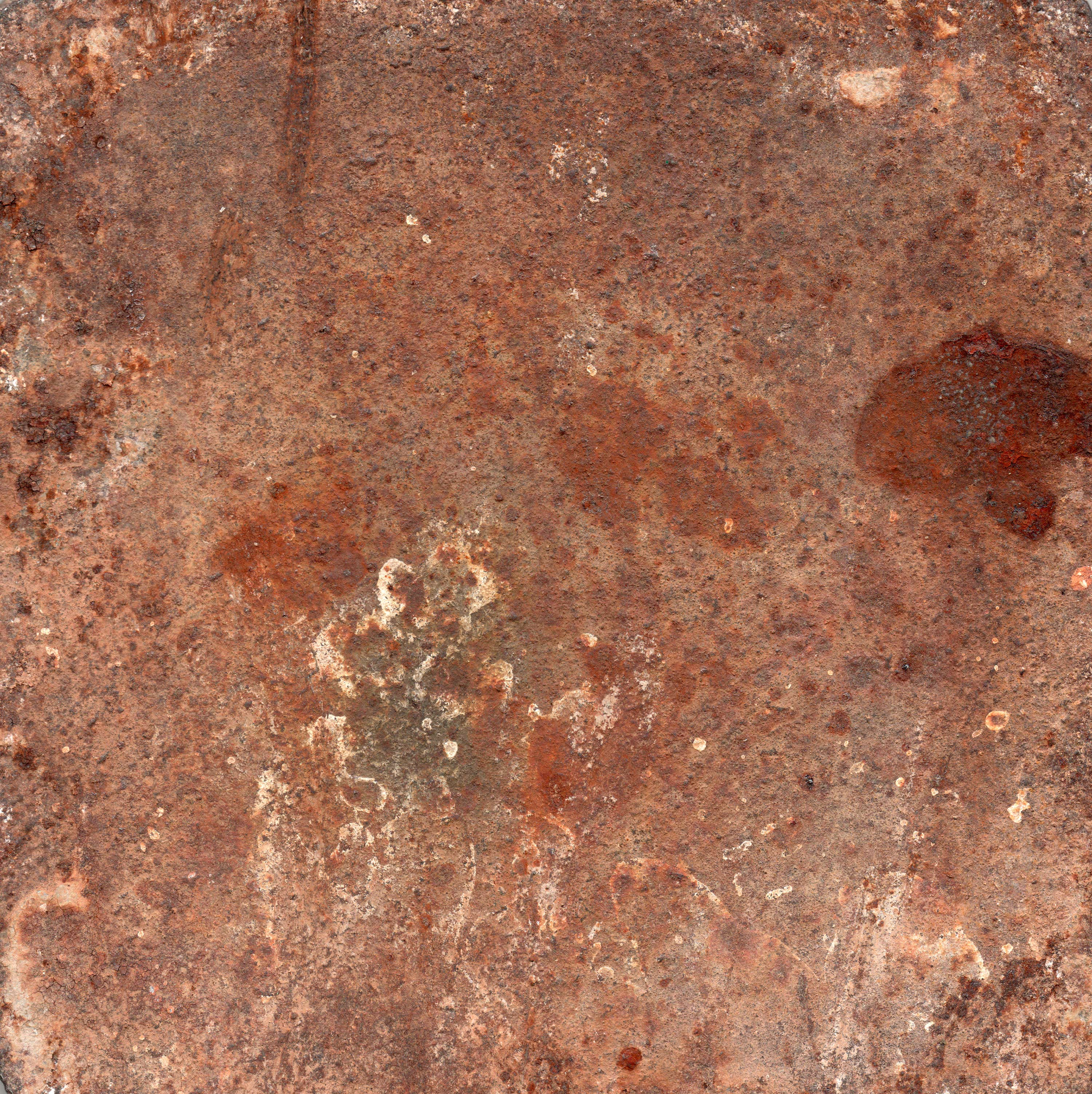 3 rusted and scratched iron textures