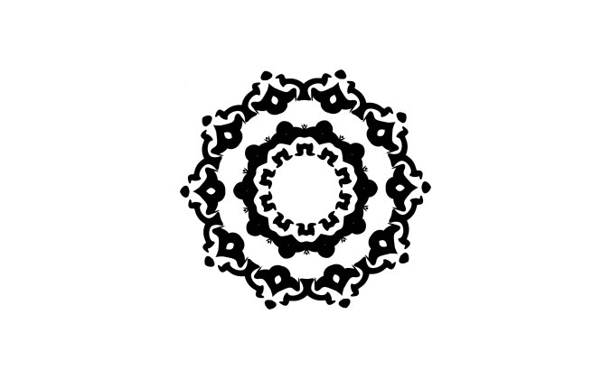 Decorative ornament resembling a flower