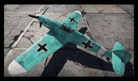 Gnhtd / Bf 109 F4 - Turquoise Skin