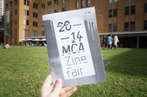 MCA Zine Fair 2014 / photo by byron & florence