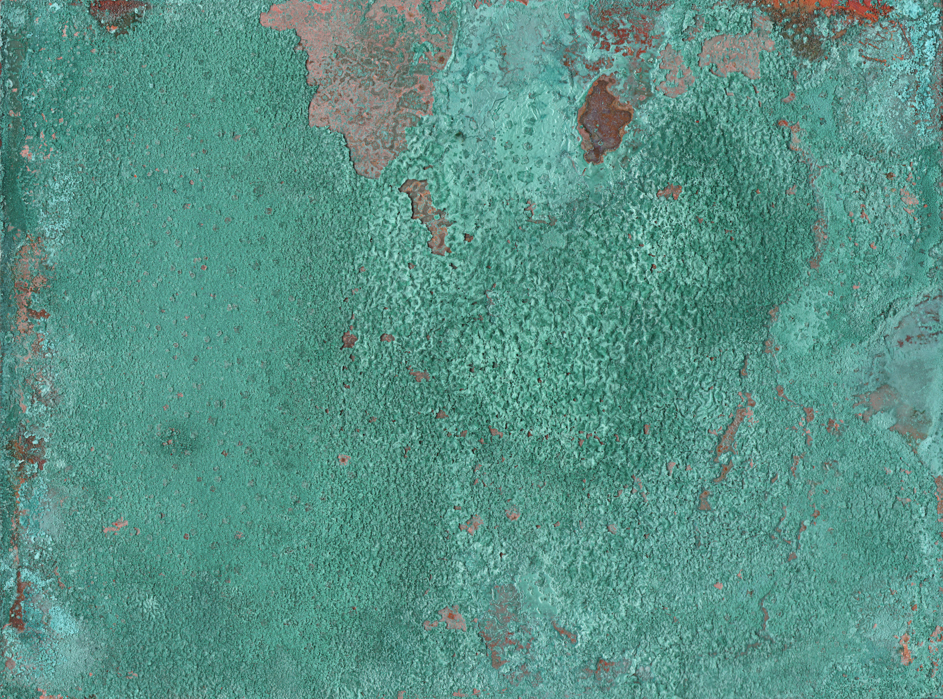 how to give copper a green patina