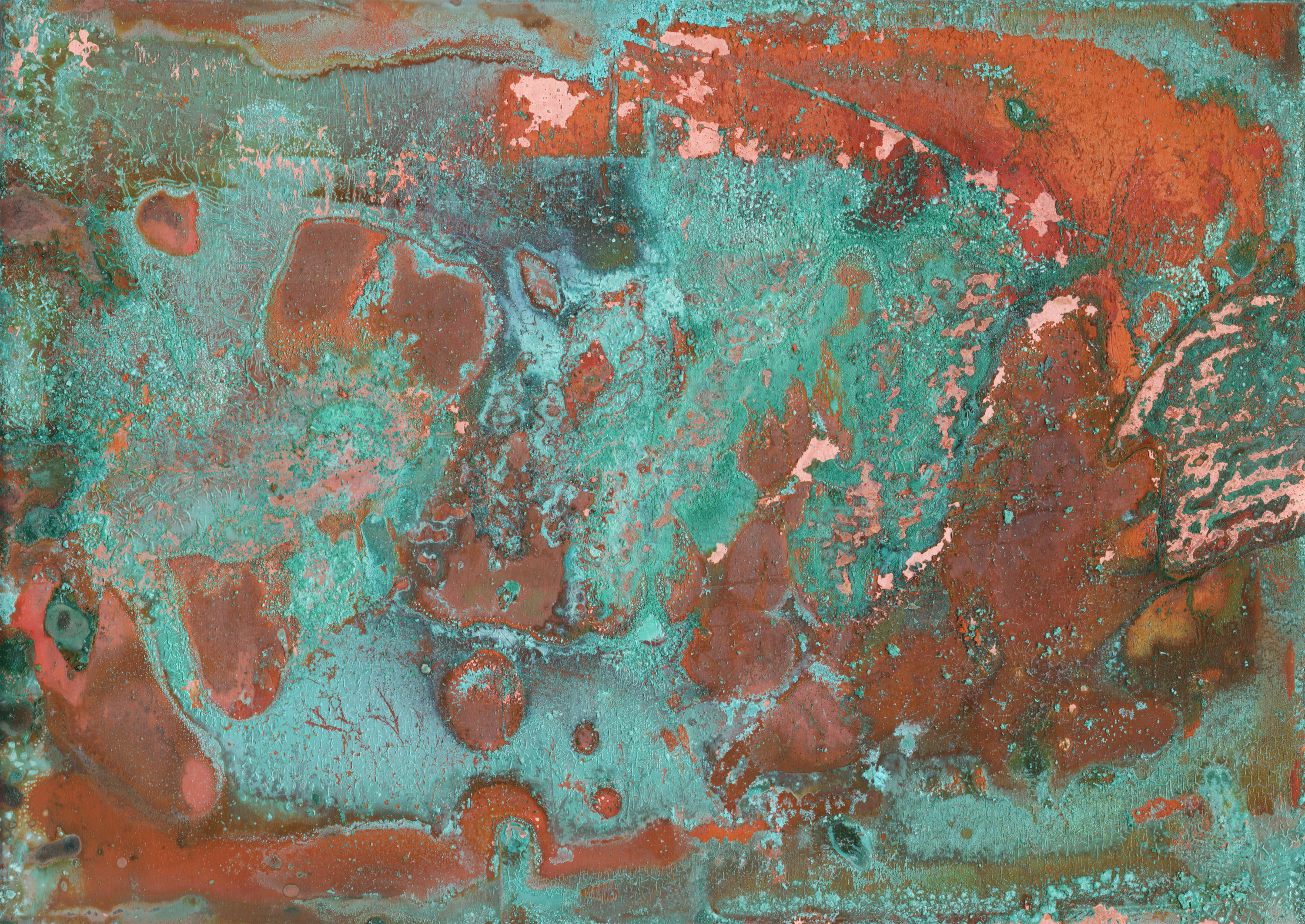 12 Rusted Copper Textures Texture Fabrik