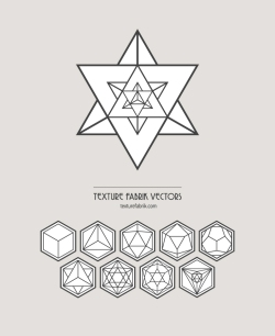 Texture Fabrik - Sacred Geometry Vector Solids