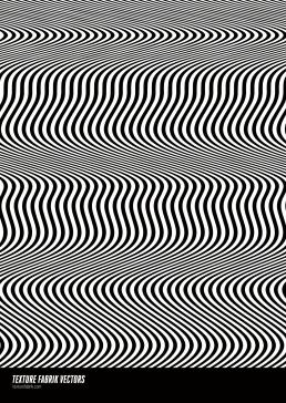 Texture Fabrik - Distorted Lines Vector Pattern