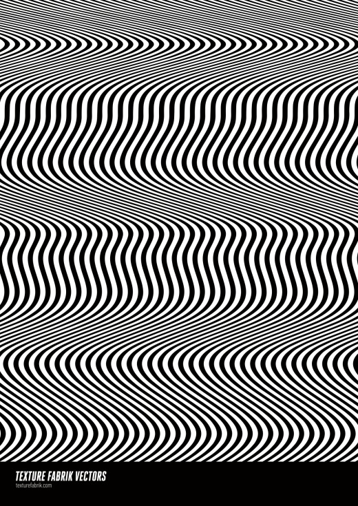 Distorted lines pattern design with moire effect