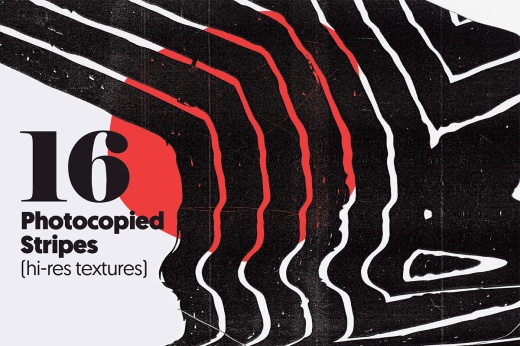 Texture Fabrik 16 Photocopied Stripes