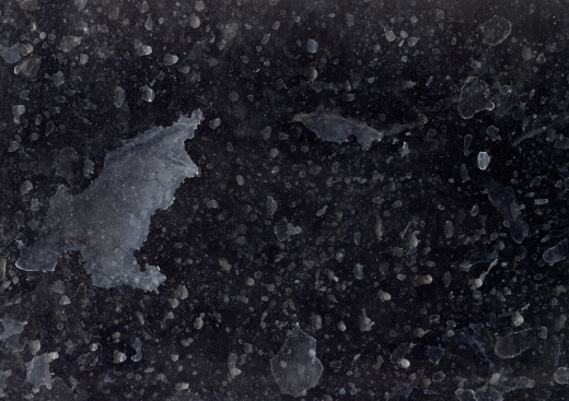 Decaying and dusty film surface