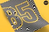 Texture Fabrik - 156 Distorted Curves, Vol.1 & 2