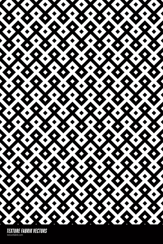 Simple black and white Islamic pattern